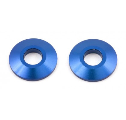 Aluminum Wheel Spacer Set (Blue)
