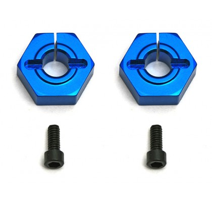FT 12 mm Alum. Clamping Wheel Hexes, Buggy Front