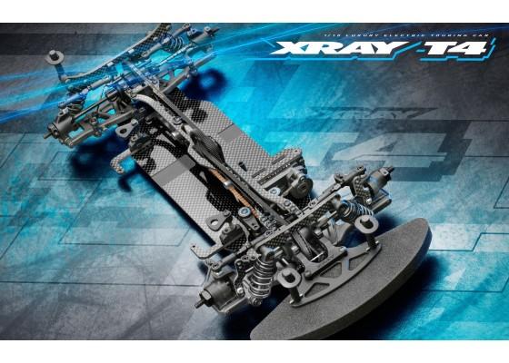 T4 2021 1/10 4-Çeker Elektrikli Yarış Arabası