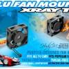 Alu Fan Mount - Orange