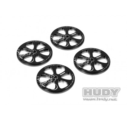 Alu Set-up Wheel for 1/10 Touring Cars (4)