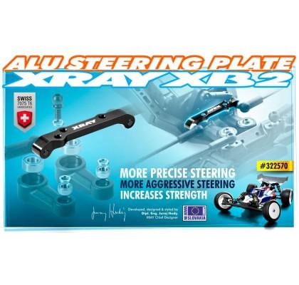 Alu Steering Plate