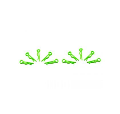 Küçük Kep klipsi 1/10 - Florasan Yeşil (10 Adet)