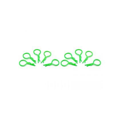 Büyük Kep klipsi 1/10 - Florasan Yeşil (10 Adet)