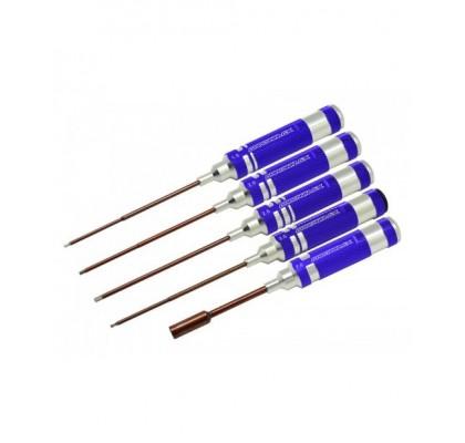 Elektirkli Yarışçı Seti 1.5-2.0-2.5-2.0 Ball-7mm Nut