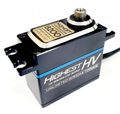 Dijital Yüksek Voltaj Kömürsüz Hız Servo - B200