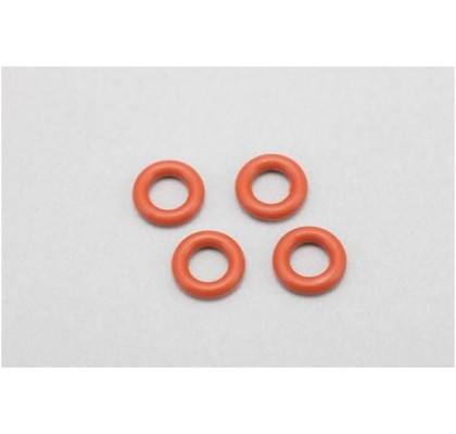 O-Ring 4pcs. for Gear Diff (Red)