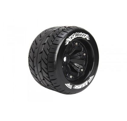 MT-Rocket Sport Compound Asphalt Tire Wheel Black 17mm Hex