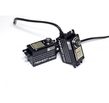 Brushless Digital High Voltage RC Servo - Low Profile