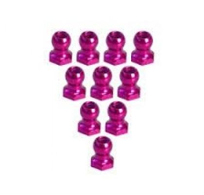 4.8MM Hex Ball Stud L=5 (10 pcs) - Pembe