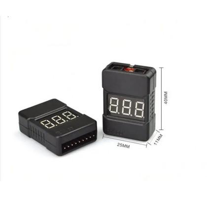 2S-8S Lipo-Li-ion-Life Voltaj Test ve Alarm-Buzzer