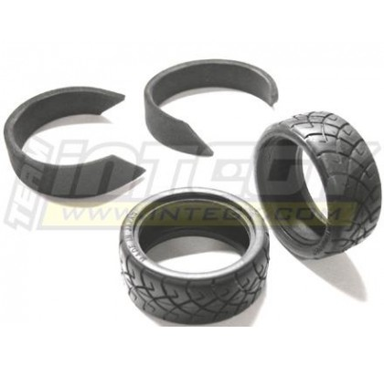 26mm X2 Rubber Radial for Touring Car-1 Pair