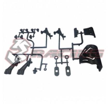 Bumper & Rear Wing Mount Set