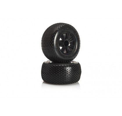 Kamikaze 10 pre-glued tyre rear - 1/10 Truggy J-Compound