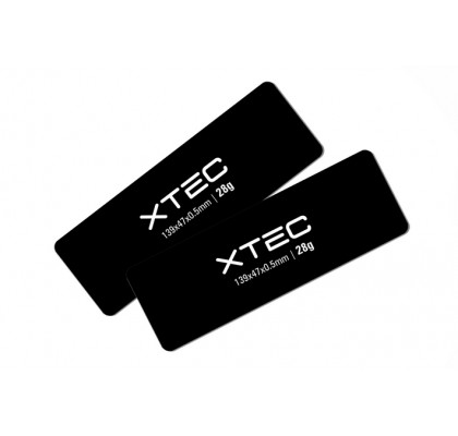 CCL Battery Weight - 139x47x0.5mm - 28g
