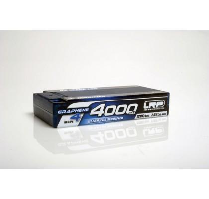 HV Ultra LCG Modifiye Shorty GRAPHENE-4 4000mAh Sert Kutulu Pil - 7.6V LiPo - 120C/60C - 158g