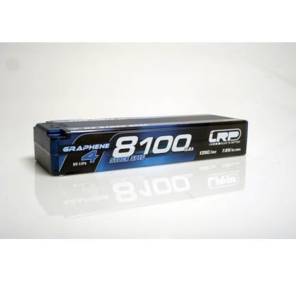 8100mAh Stok Sınıf 135c/65c 7.6v Graphene-4 Lipo Yüksek Voltaj