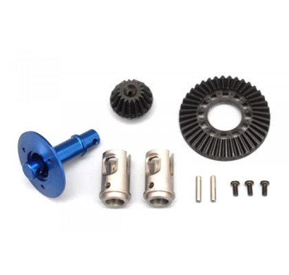 Strong Light Weight Solid Axle Set