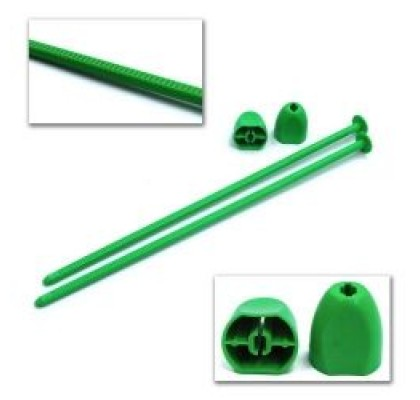 1/10 Offroad Tire Zip Stix (Green)