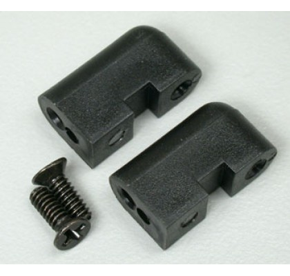 STEERING SERVO MOUNTS (2) FOR EVST