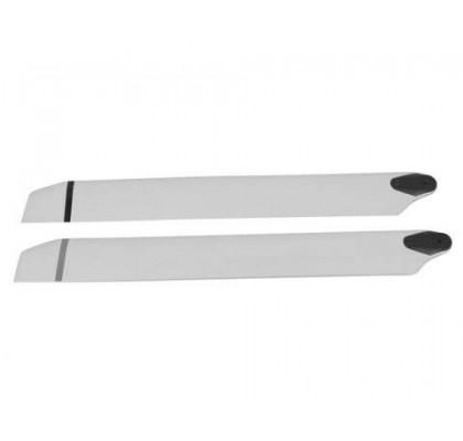 TAHTA ÜST PERVANE 315x32x4.5mm Beyaz
