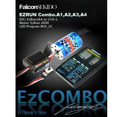 EZRUN Series Brushless Power System For 1/18 or 1/16 Car COMBO (ESC+5200 Motor+LED Program Box)