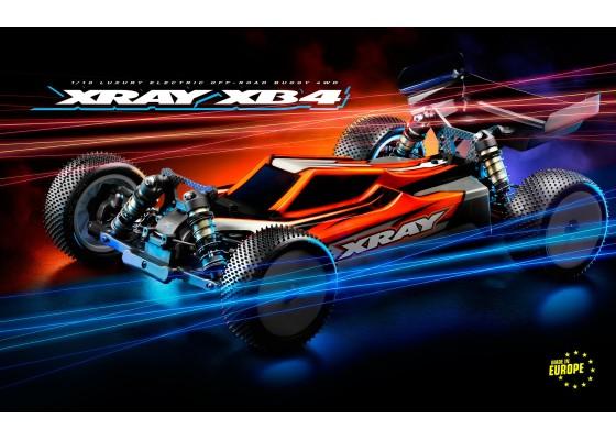 XB4 2021 1/10 4wd Pro-Buggy