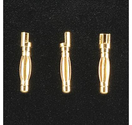 2mm Altın Kaplı Bullet Soket - Erkek (3)