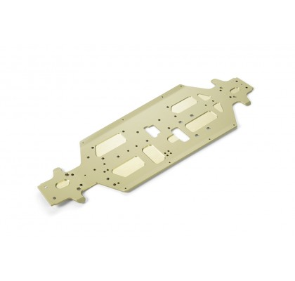 GT Alu Chassis CNC Machined (3mm)