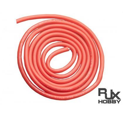 20 AWG Gümüş Silikon Kırmızı Kablo 5mt