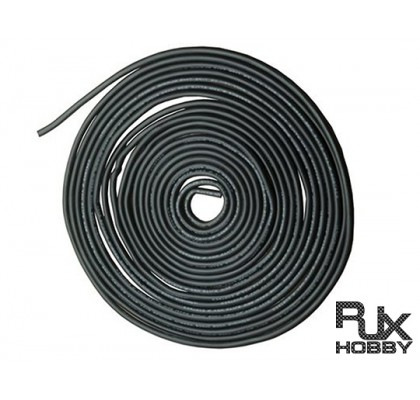 20 AWG Silver Silicone Wire Black 5mt