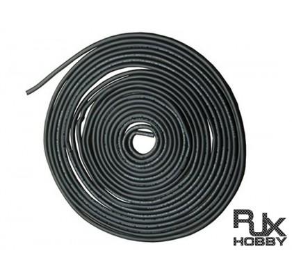 20 AWG Gümüş Silikon Siyah Kablo 5mt