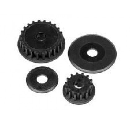 14T AND 22T PULLEY GEAR SET (TORNADO)