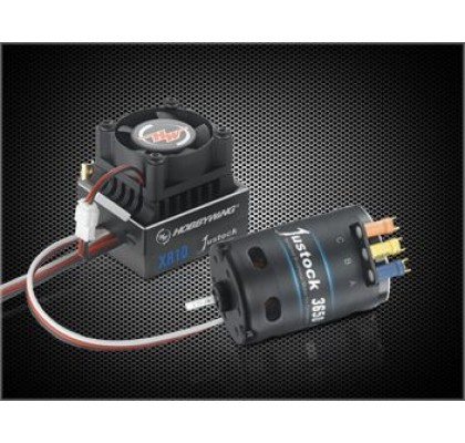 Motor Esc Kombo- JUSSTOCK XR10+ 10.50 Siyah