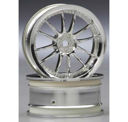 Work XSA 02C Wheel 26mm Chrome 3mm Offset