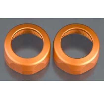 Baja SS Shock Cap 20x12mm (Orange/2pcs)