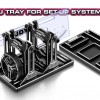 Alu Tray for Set-Up System