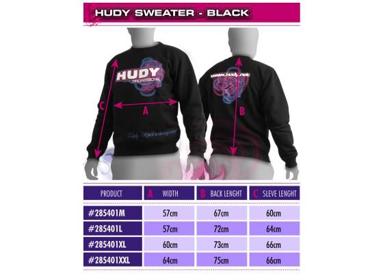 Sweet Shirt-Siyah - (XL)