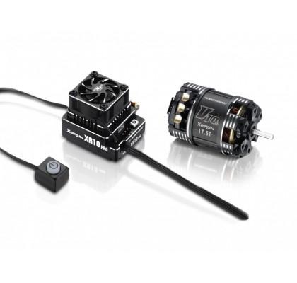 Xerun XR10 Pro Siyah ESC G1 & Motor Combos