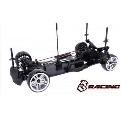 Sakura D4 1/10 Drift Car(AWD) - Sport Black edition