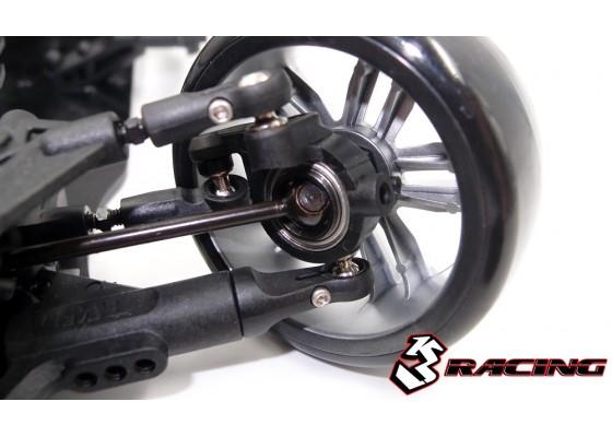 Sakura D4 AWD Dört Çekiş Drift Aracı-Spor-Siyah Geliştirilmiş Versiyon