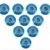 4MM Açık Mavi Tekerlek Vidası 10 Adet