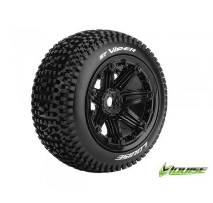 ST-VIPER Sport-Hamur Siyah 17mm Jantlı Lastik (1 Çift)