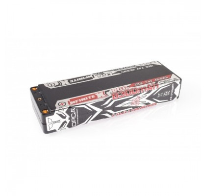 Infinite X 6300mAh 7.4V 130C LiPo Stick Pack