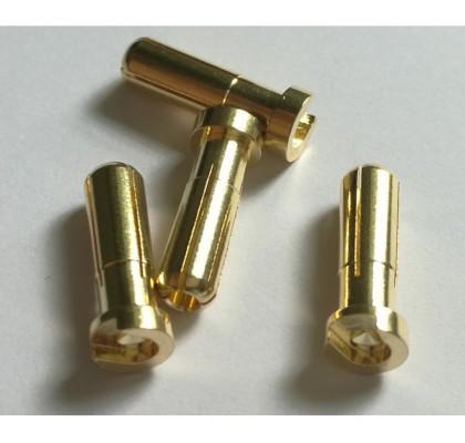Flat Type 5.0mm Bullet Plug