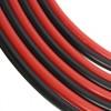 14 AWG Silikon Siyah+Kırmızı Kablo 1m