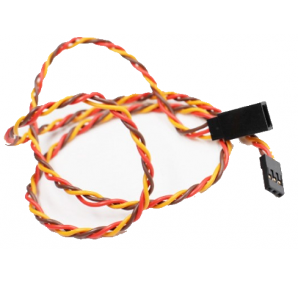 Servo Extension Wire Twisted (Male+Female JR )