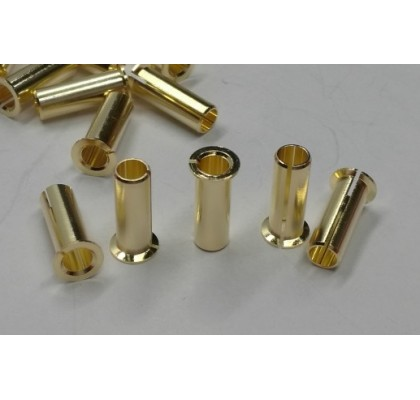 4.0/5.0mm Adaptor Plug Gold Plated (4 Pcs)