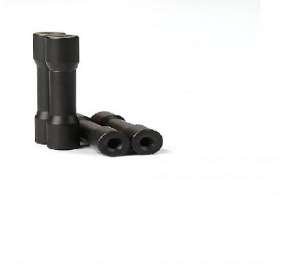 Alüminyum 30mm Sütün 30mm Siyah(6 Adet)