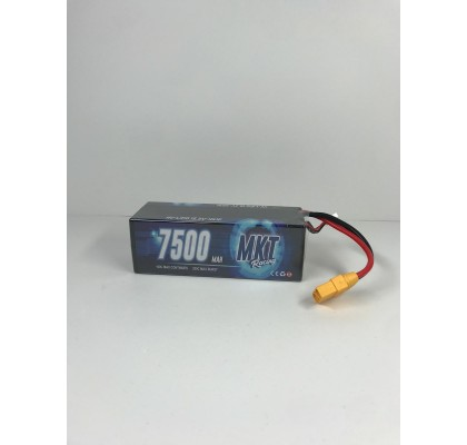 7500mAh 100C 4S Lipo Black Line Battery 15.2HV